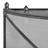 Mesh Fireguard in Antique Pewter Effect Finish - Stoves World Ltd