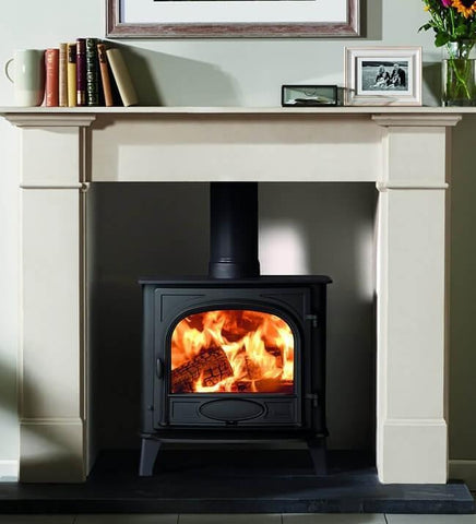 STOVAX STOCKTON 5W WIDE WOOD BURNING STOVE - Stoves World Ltd