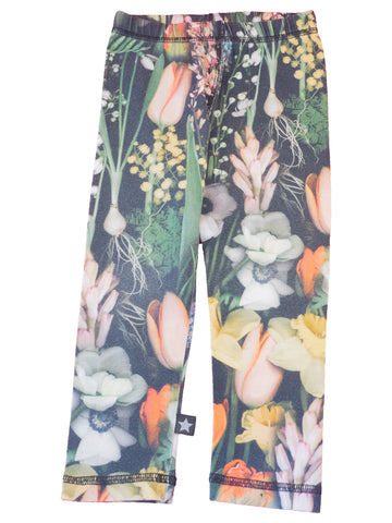 Blomstrede leggings