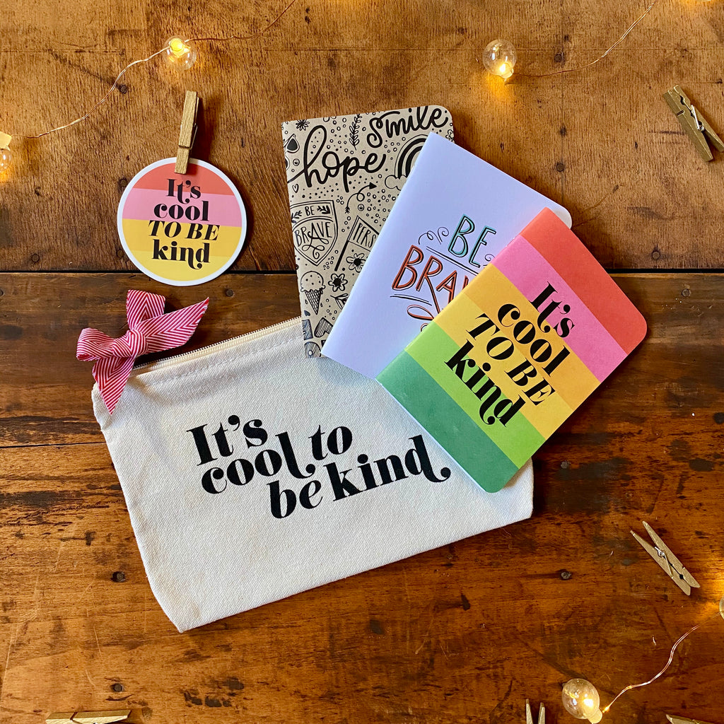 kids cool to be kind gift set