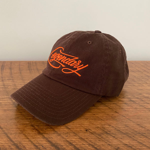brown legendary hat