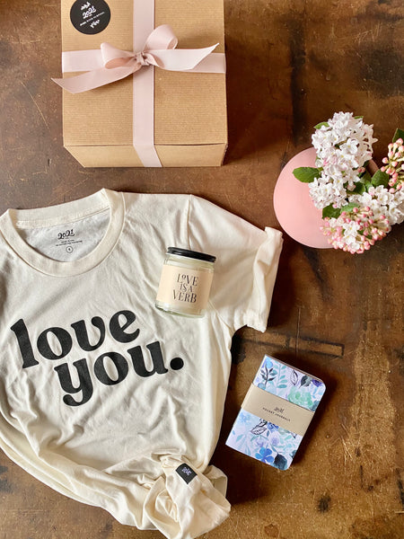 Love you mom gift set