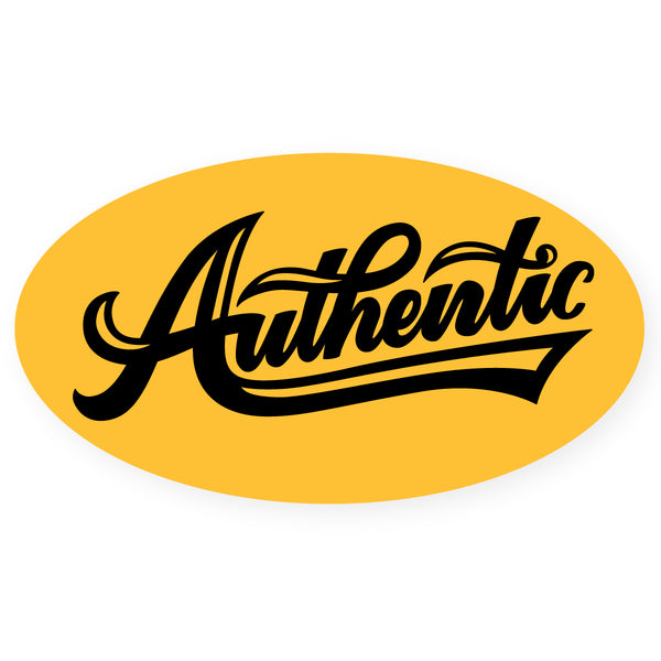 Authentic Sticker