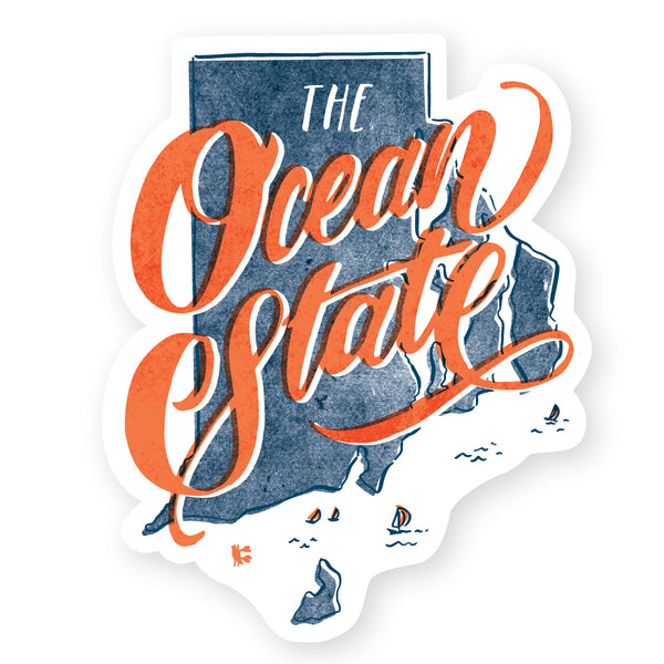 the Ocean State sticker