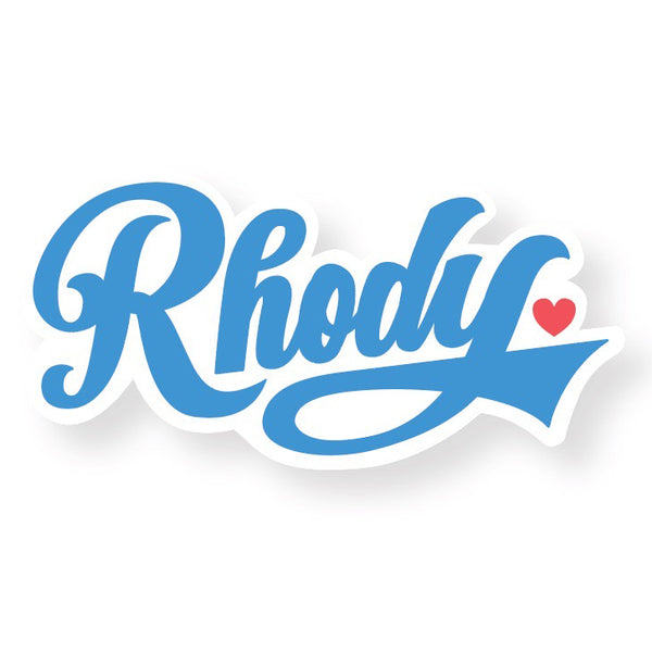 rhody love sticker
