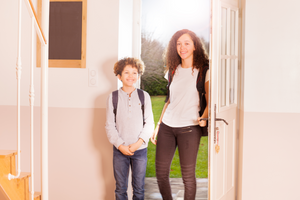 Back-to-School: 3 Ways a Video Doorbell Camera Can Help Keep Your Kids Safe