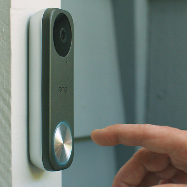 RemoBell S Fast-Responding Smart Video Doorbell Camera with Chime - Remo+