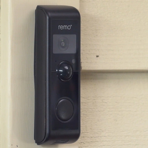 RemoBell W Equipped Smart Video Doorbell Camera with Chime - Remo+ video doorbell camera doorcam smart home security