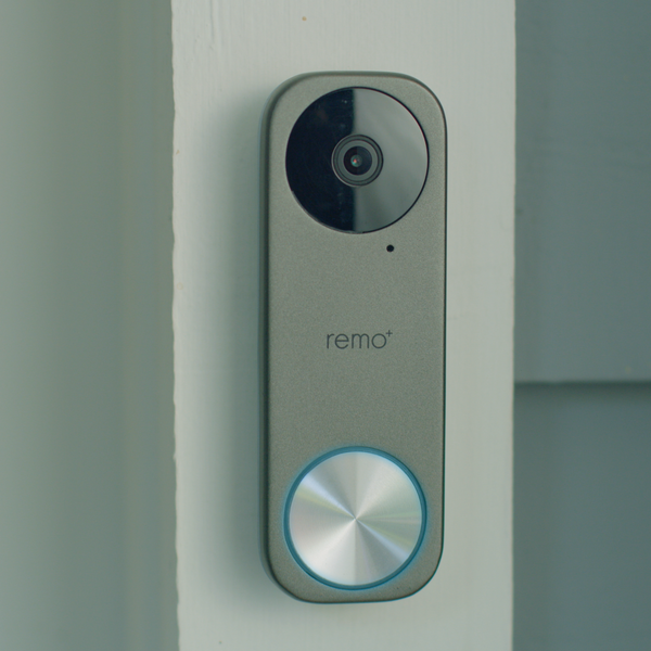 Smart Doorbell Camera Installed on Home