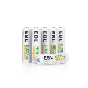 Rechargeable AA Batteries (6-pack)