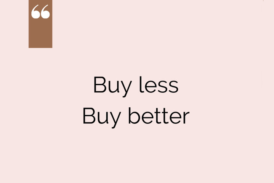 Buy less buy better natural candles