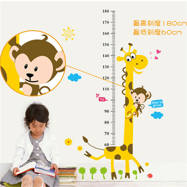 Cool Giraffe Height Chart