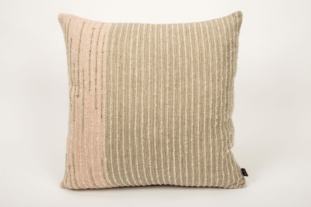 "Brittany Cushion (Square - Medium) | ""Seaweed"" 