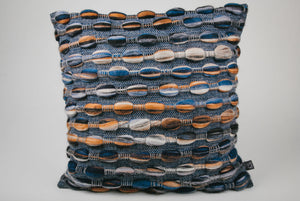 "Normandy Cushion (Square - Medium) | ""Ripples"" 