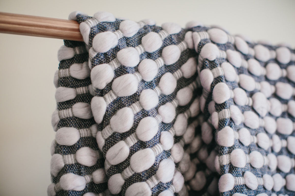 Normandy Collection: 'Ripples' Throw