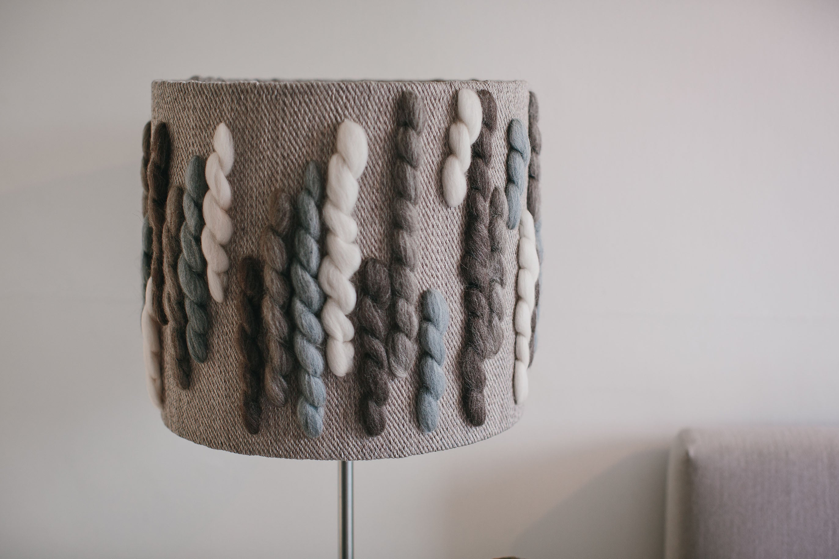 "Forest Lampshade | ""Caterpillar"" 