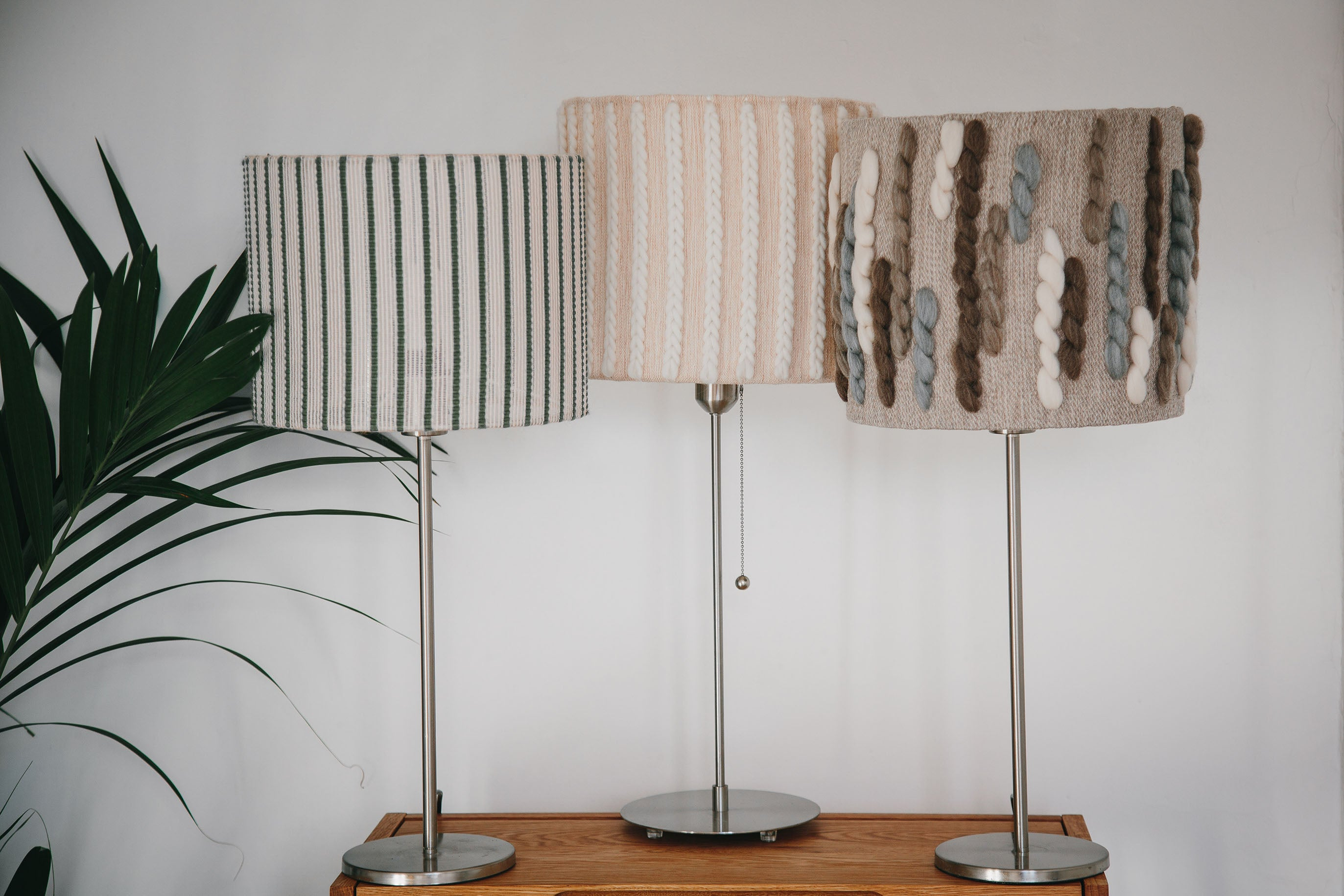 "Brittany Lampshade | ""Seaweed"" 