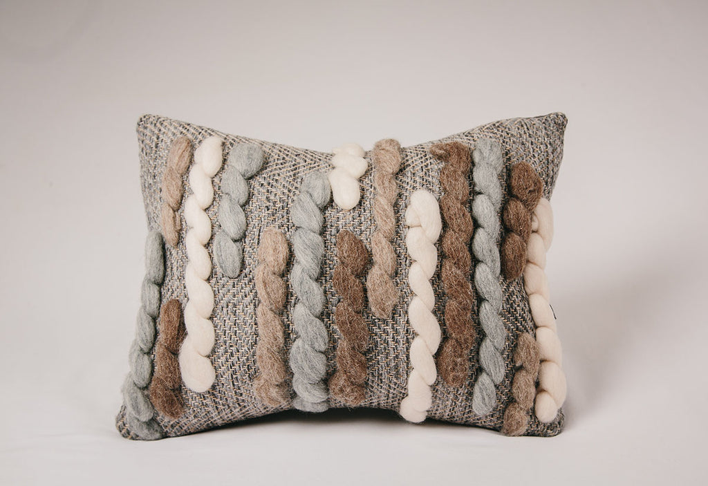 Forest Collection: 'Caterpillar' Cushion