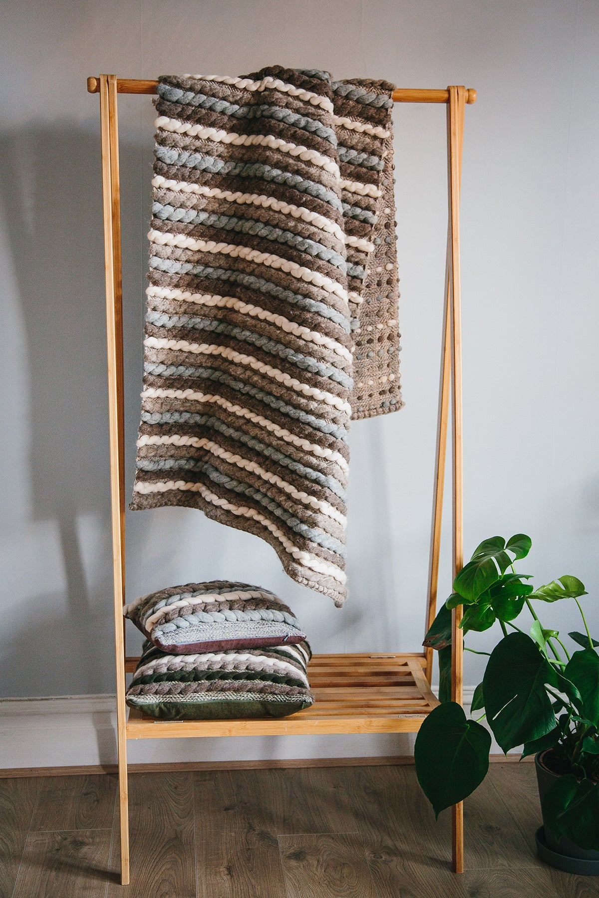 Forest Collection: 'Tendril' Throw
