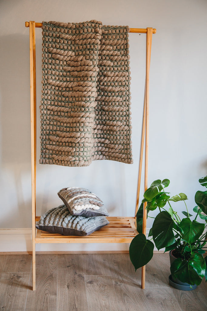 Forest Collection: 'Burrows' Throw