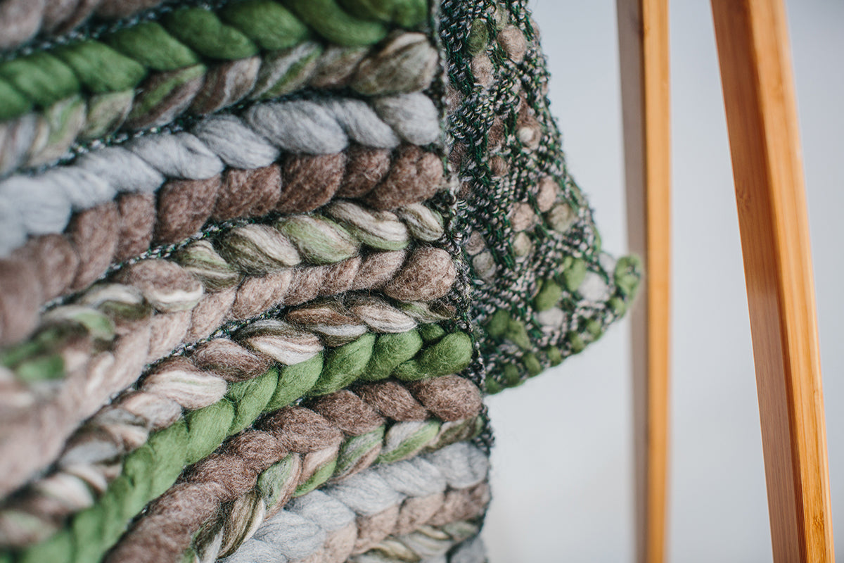 Forest Collection: 'Double Tendril' Throw
