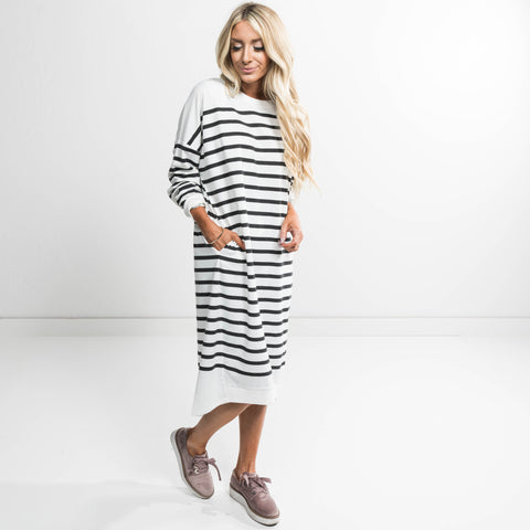 Nora Long Sleeve Dress