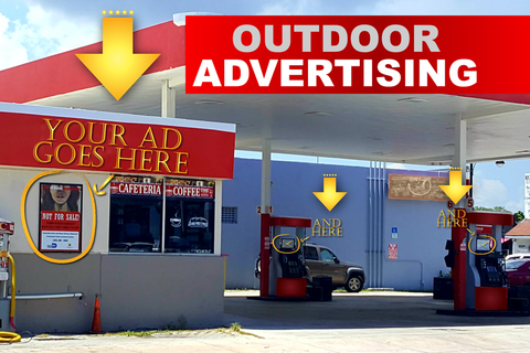 Outdoor Advertising and Awareness Messaging