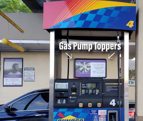 Gas Pump Ads in Florida Outdoor Advertising OOH Market