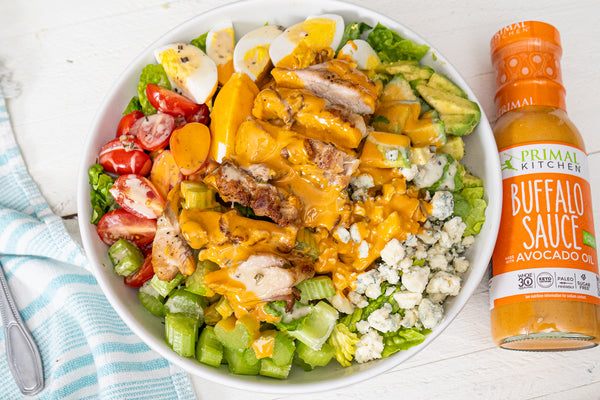 Chicken Cobb Salad with Buffalo Ranch