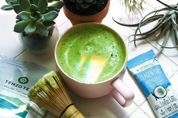 Matcha Collagen Fuel Latte