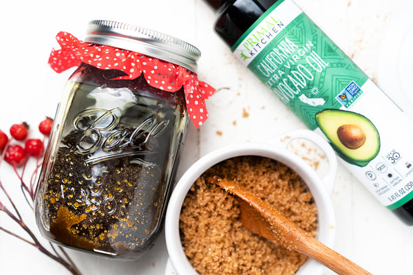 Avocado Oil and Brown Sugar Face and Body Scrub