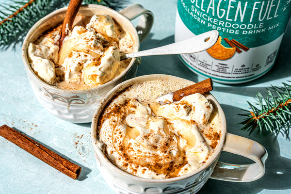 Keto Snickerdoodle Caramel Coffee with Collagen