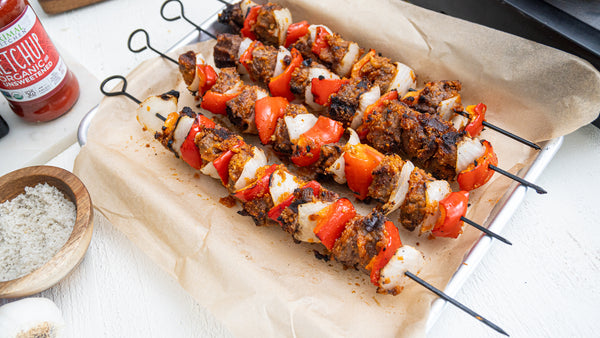 West African Steak Kabobs