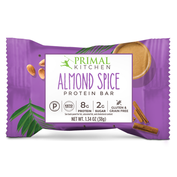 What's Inside Almond Spice Protein Bars - 12 Count