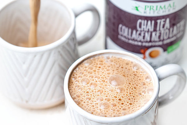 2 Minute Chai Tea Collagen Keto Latte