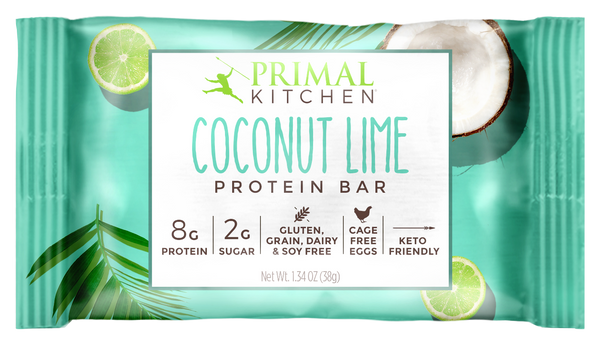 What's Inside Coconut Lime Protein Bar