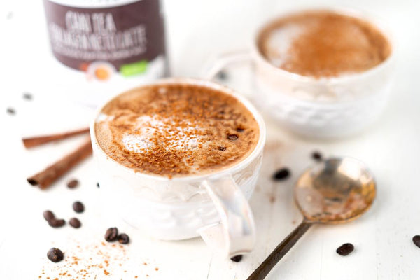 Keto Dairy-Free Dirty Chai Latte