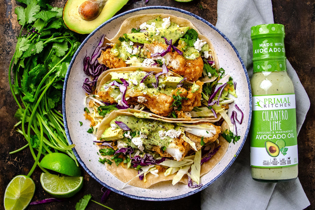 Cilantro Lime Fish Tacos Recipe