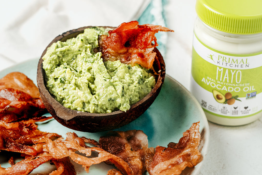Bacon Chips and Guacamole Recipe