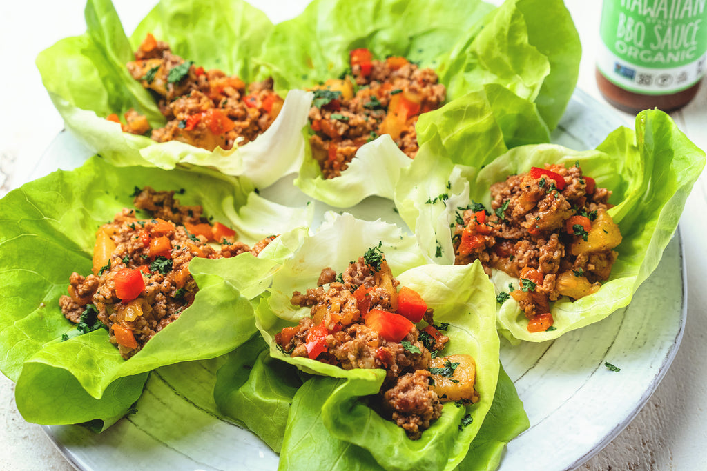 Whole30 and Paleo Lettuce Cups