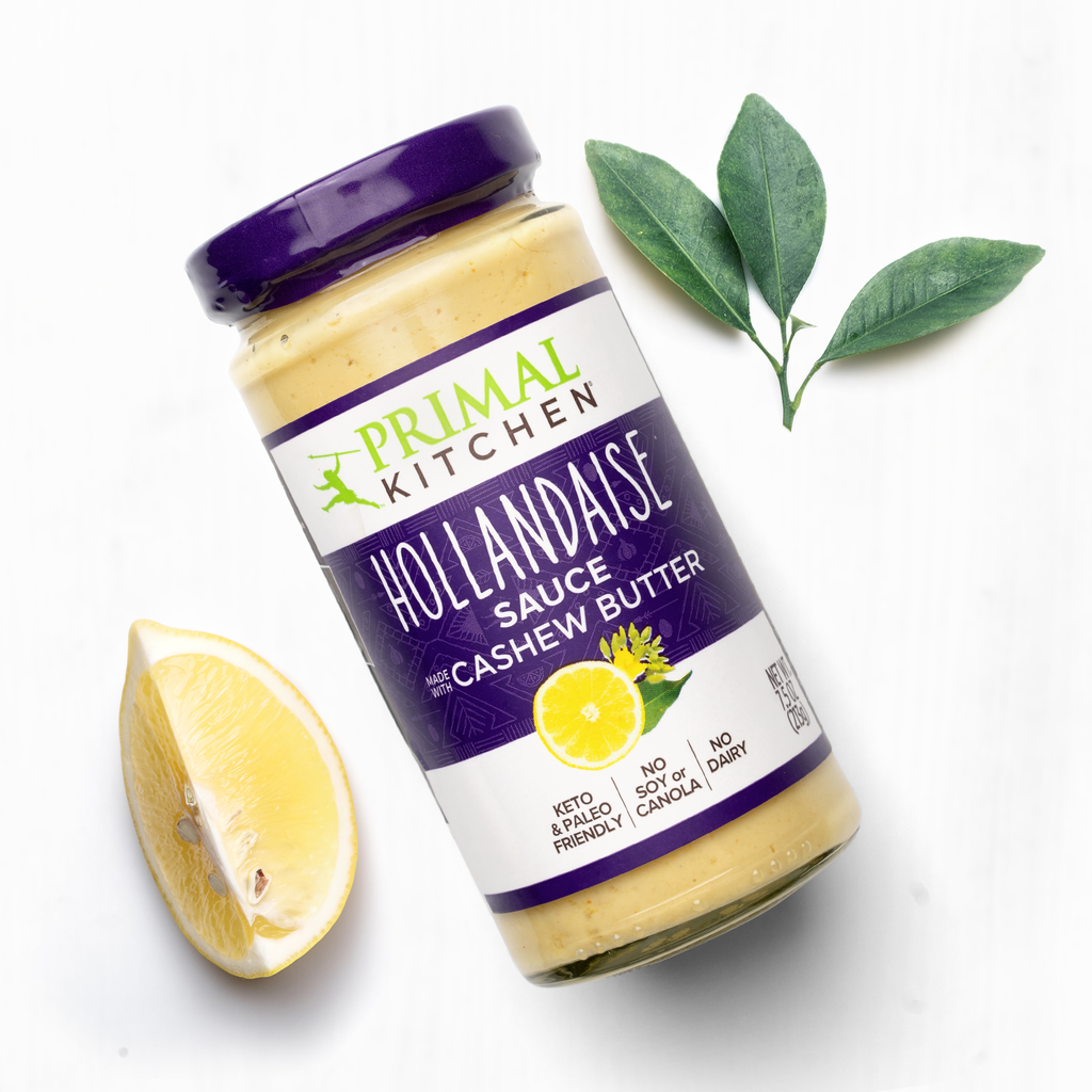 Hollandaise is next to lime and sage.