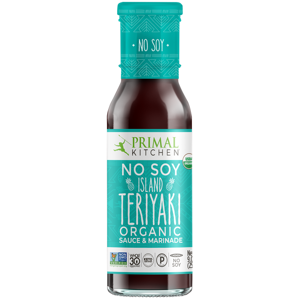 What's Inside No-Soy Island Teriyaki Sauce & Marinade