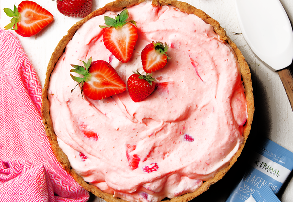 Keto Strawberry Pie