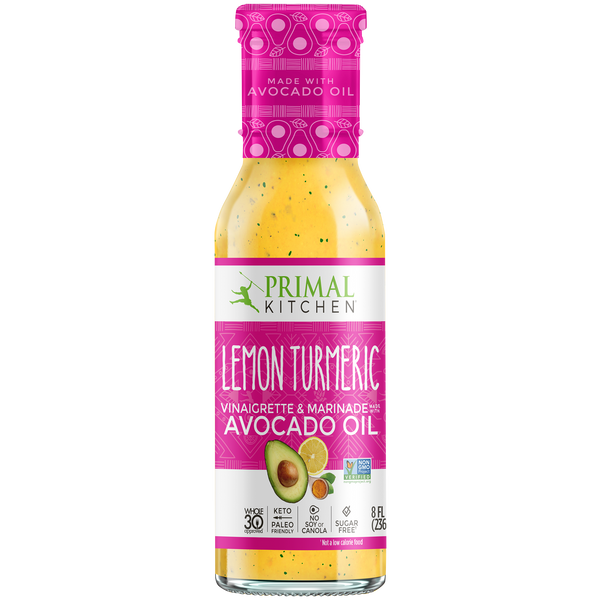 What's Inside Lemon Turmeric Vinaigrette & Marinade
