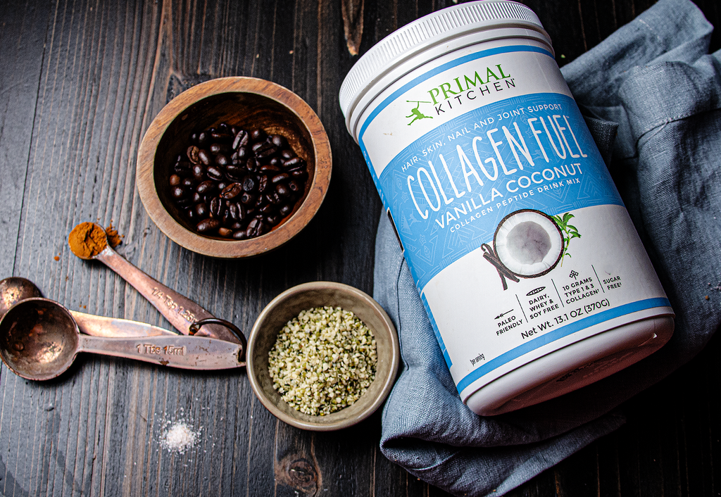 Mark Sisson's Vanilla Collagen Hemp Latte