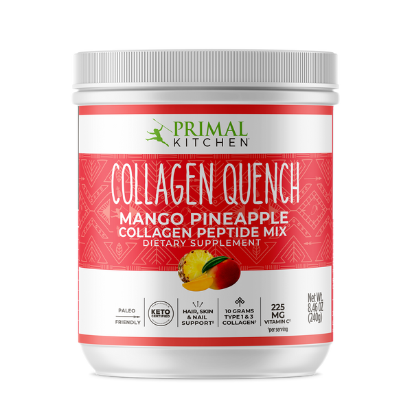 What's Inside Collagen‌ ‌Quench‌ ‌Pineapple‌ ‌Mango‌ Drink Mix - 8.5 oz