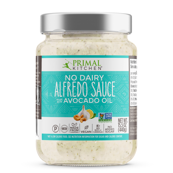What's Inside No-Dairy Alfredo Sauce