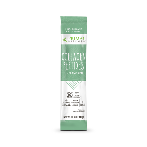 What's Inside Collagen Peptides Packets - 20 Count