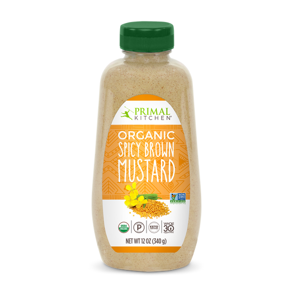 What's Inside Organic Spicy Brown Mustard
