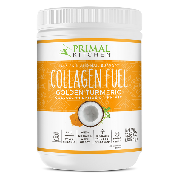 What's Inside Collagen Fuel™ Drink Mix - Golden Turmeric